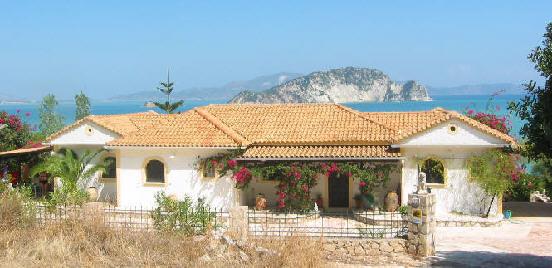 Zakynthos Zante House Marathia Griechenland Greece Villas