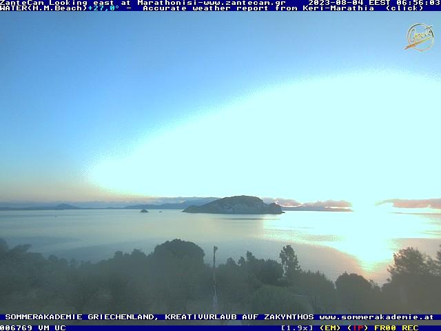 1.webcam on zakynthos zante- sponsored by House Marathia Zakynthos greece Griechenland